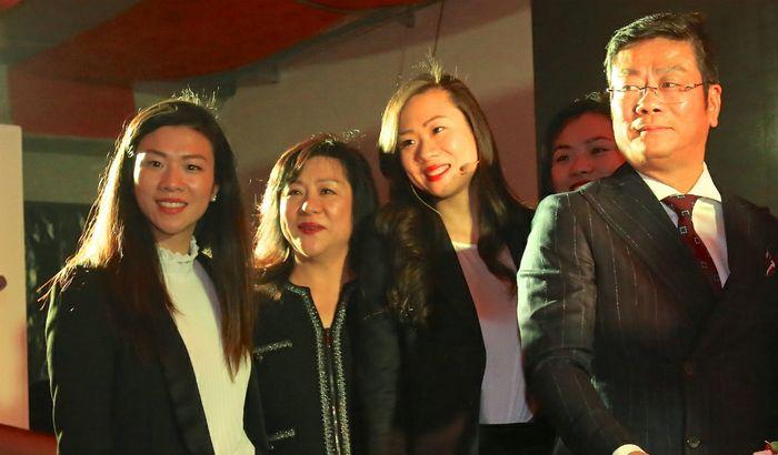 La famiglia Zhang