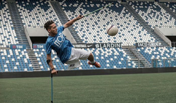 Francesco Messori in azione