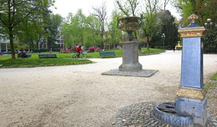 Fontanella giardini Piazza Roma