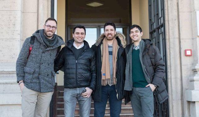 Alessio Giovagnoli (il primo da sinistra)