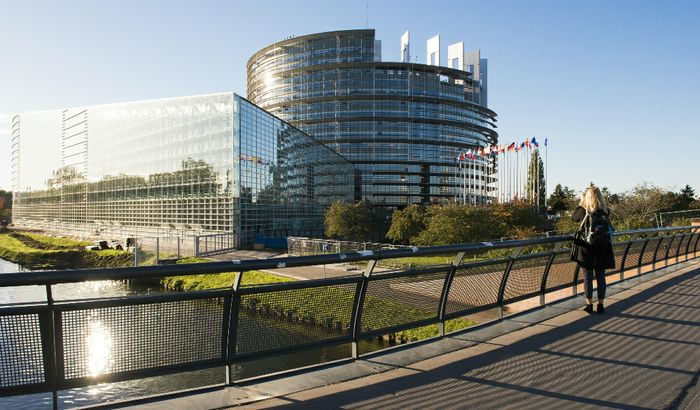La sede di Strasburgo del Parlamento Europeo