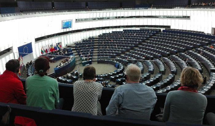 Visita istituzionale al parlamento Europeo di Strasburgo