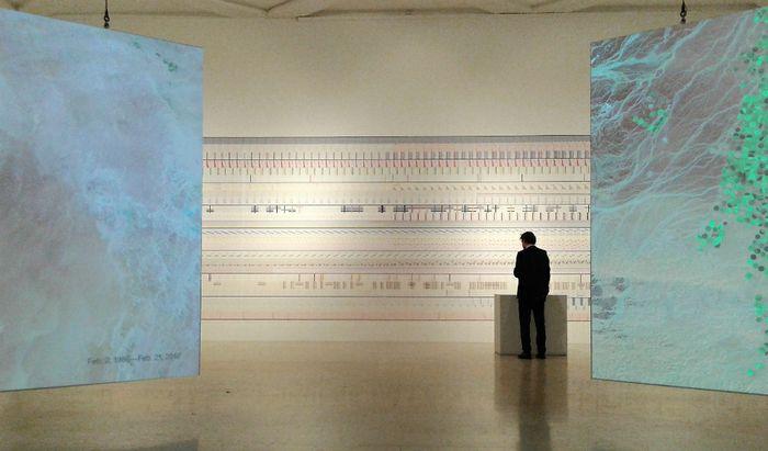 Dentro la Triennale di Milano