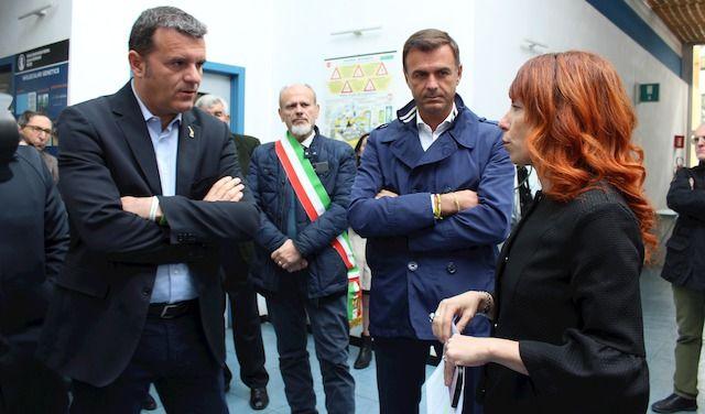 Istituto Spallanzani visita Gian Marco Centinaio con Ettore Prandini