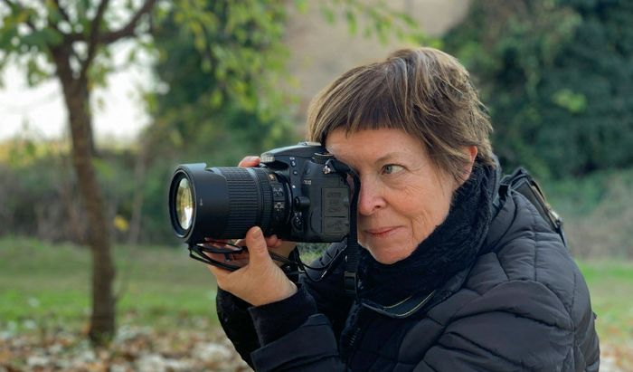La fotografa Cosetta Frosi