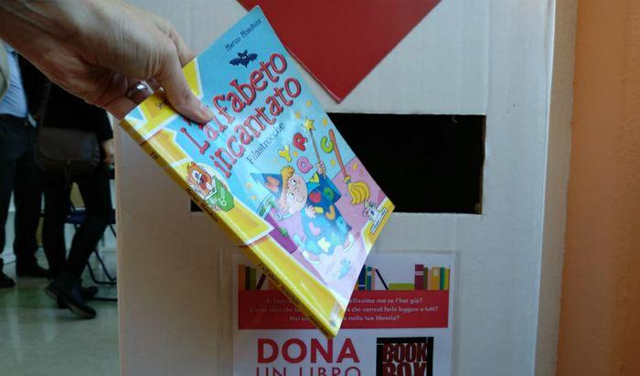 Una Book Box per la raccolta dei libri