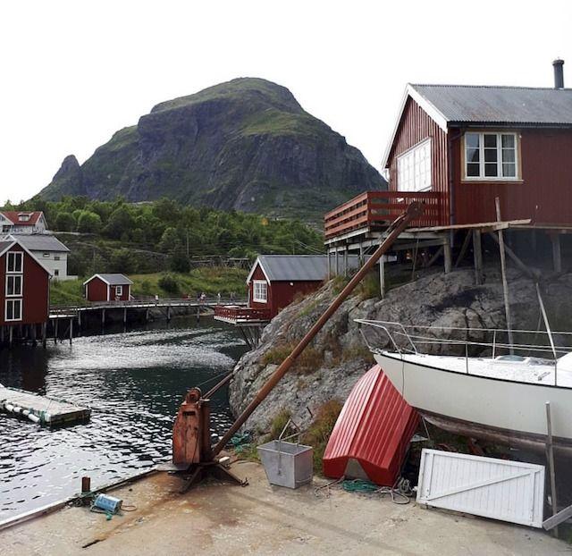 Norvegia, villaggio di pescatori
