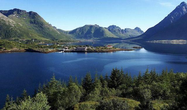 Lago di Lofoten