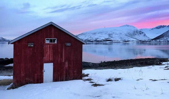 Norvegia, sole di mezzanotte