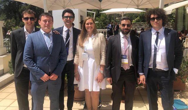Foto di gruppo dei presenti al convegno - Rivaroli, Ogliar Badessi, Bosio, Delledonne, Ghidetti, Paone