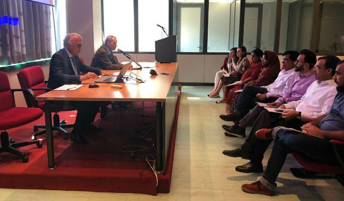 Delegazione pakistana in visita a CremonaFiere