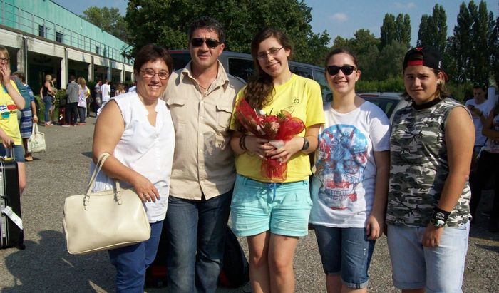 Magdalena Madej (la terza da sinistra)