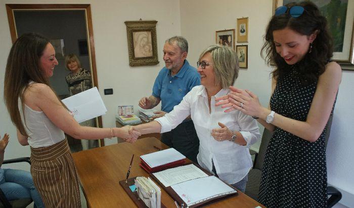 Borsa di Studio Dott. Vanni Adami - Giulia Archenti, prima classificata