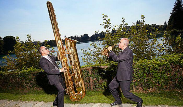 Il sassofono più grande del mondo