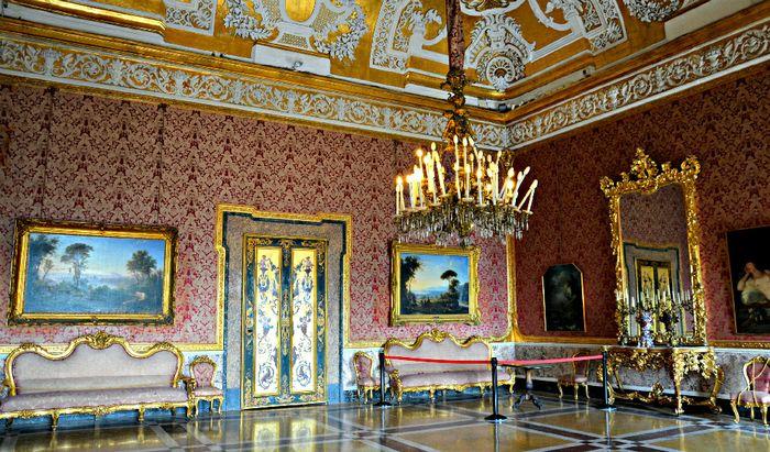 Sala XVI Palazzo Reale di Napoli