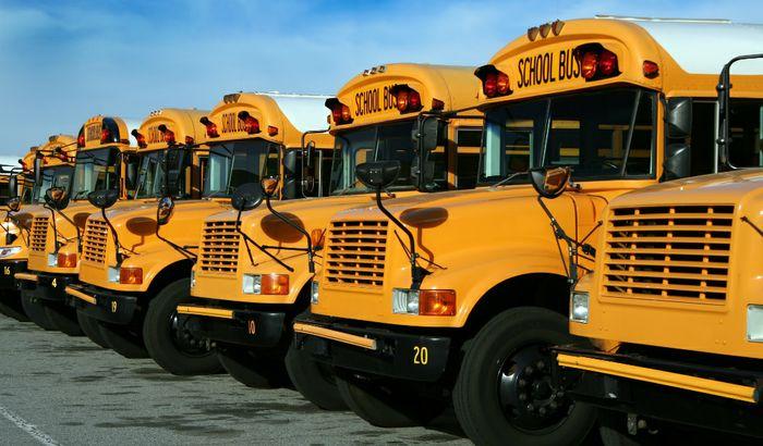 Scuola bus americani