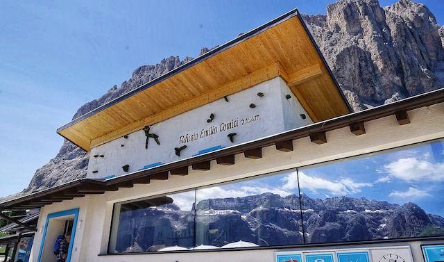 Rifugio Emilio Comici, Dolomiti