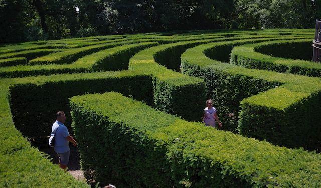 Labirinto del parco-giardino Sugurtà
