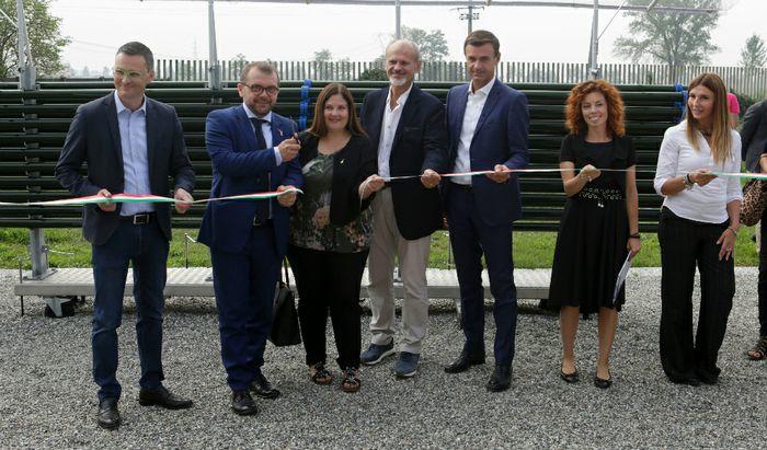 Parco Bioreattori Polo Microalghe Spallanzani - Inaugurazione
