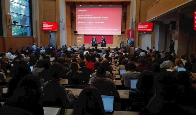 SCIENCES PO LEZIONE INAUGURALE