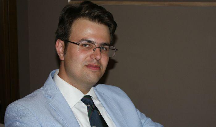 Andrea Fenocchio autore del libro