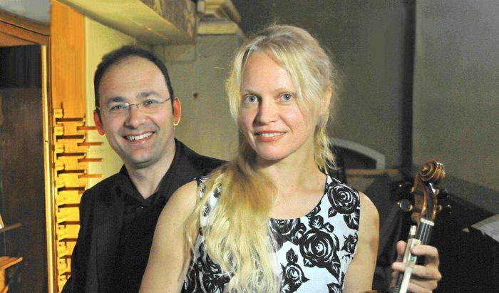 Duo organo/violino Ruggeri-Uinskyte
