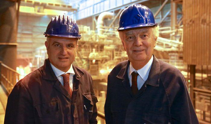Mario Caldonazzo e Giovanni Arvedi