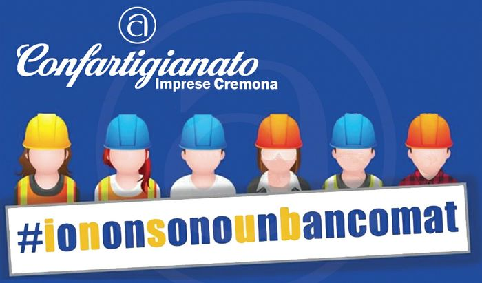 #ionosonounbancomat  Campagna Confartigianato