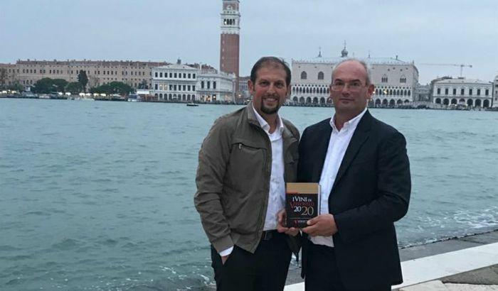 Emanuele e Davide Caleffi a Venezia con la guida