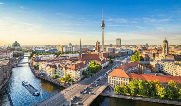 Panoramica di Berlino