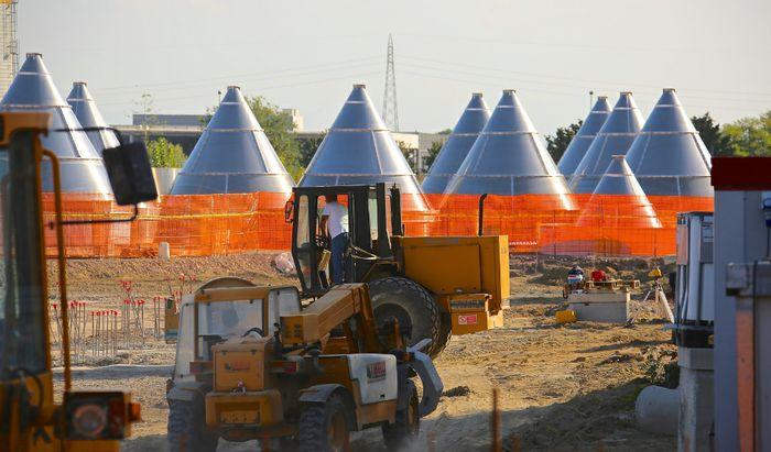 Katoen Natie - Nuovi silos in costruzione