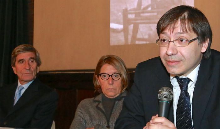 Stefano e Serena Andreotti e Fabio Molinari