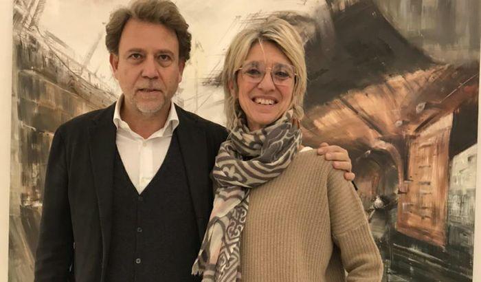 Raffaella Colace con Marco Pelligra