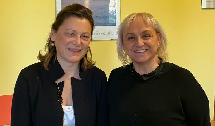 Enrica Ronca e Michela Marieschi