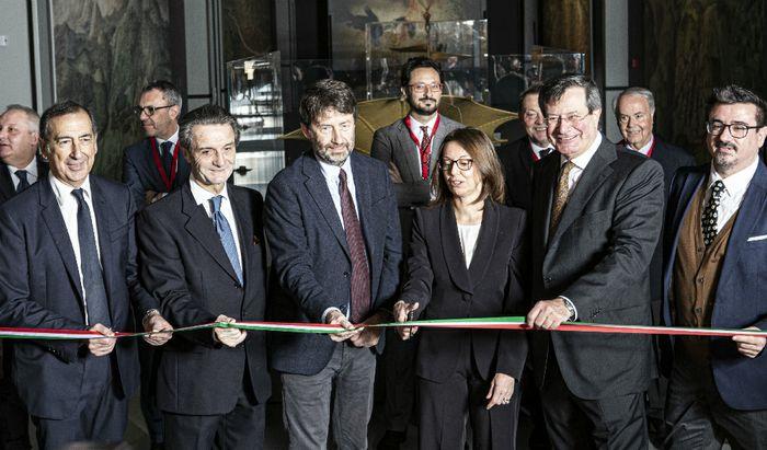 Nuove Gallerie di Leonardo - Inaugurazione