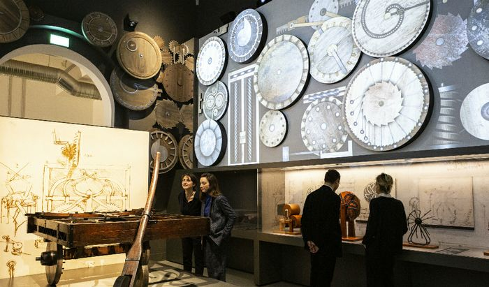 Nuove Gallerie di Leonardo - Museo della Scienza e della Tecnica, Leonardo Da Vinci