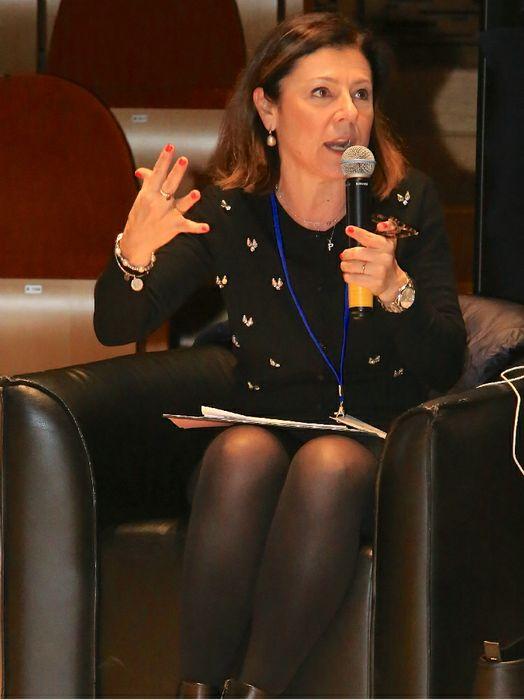 L'On. Paola De Micheli, Ministro delle Infrastrutture