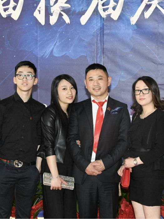 La famiglia di Francesco Lin Xufeng