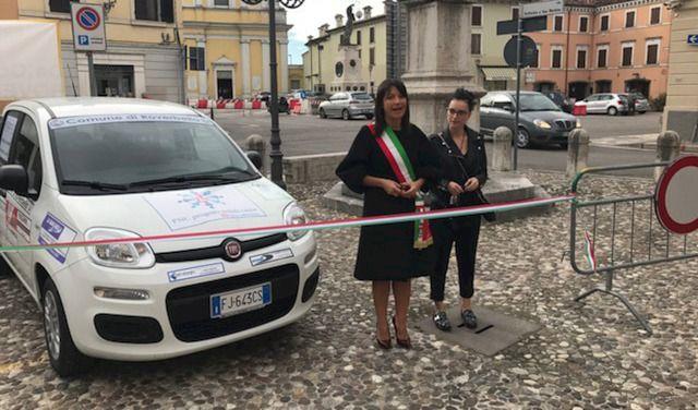 Nobili Cause - Un mezzo consegnato comune di Roverbella