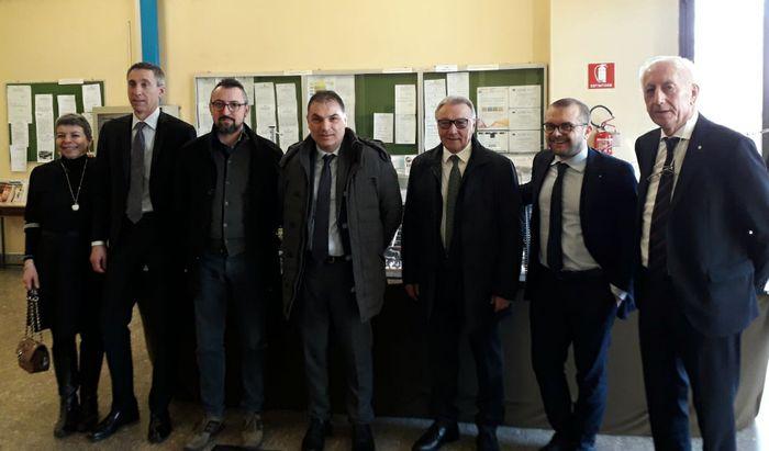 Apima - Nuovo consiglio - Da sinistra, Nolli, Canesi, Piloni, Signoroni, Crotti, Rolfi e Demicheli