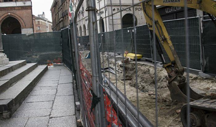 Lo scavo in Largo Boccaccino