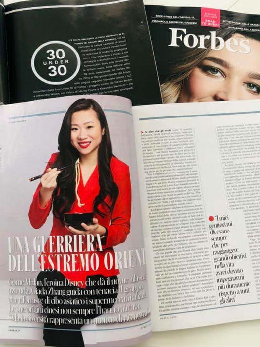 Giada Zhang su Forbes