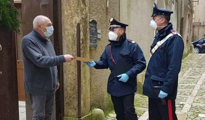 Poste Italiane e carabinieri insieme per consegna pensione