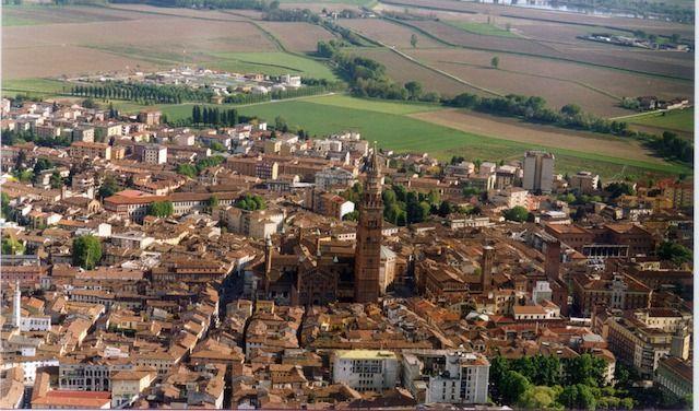 Cremona veduta aerea