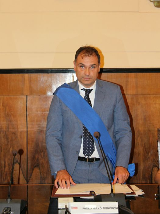 Paolo Mirko Signoroni, Presidente della Provincia di Cremona