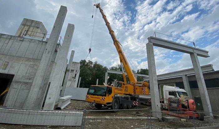Wonder, il nuovo capannone in costruzione
