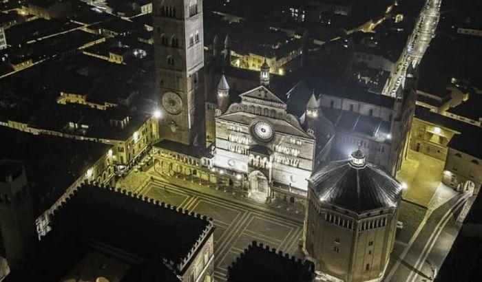Piazza Duomo dall'alto