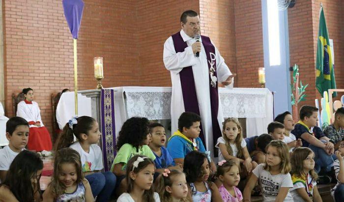Padre Claudio Marinoni in Brasile