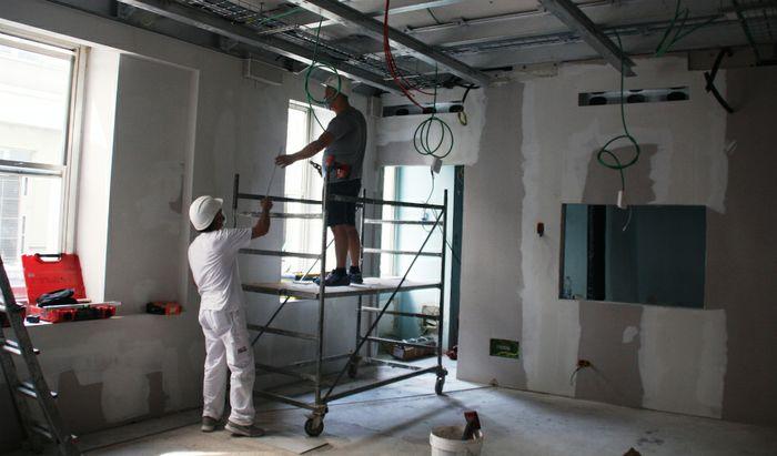 I locali del Pronto Soccorso di Cremona dove verrà installata l'apparecchiatura radiologica