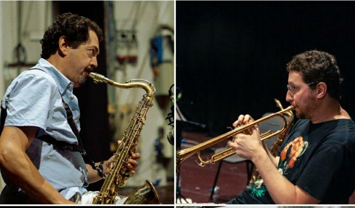 Due componenti del Folcioni JazzLab Quartet